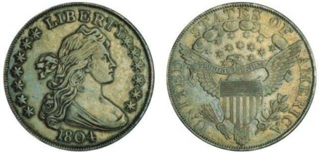 silver dollar 1804