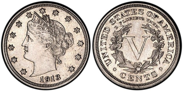 Liberty Head Nickel 1913