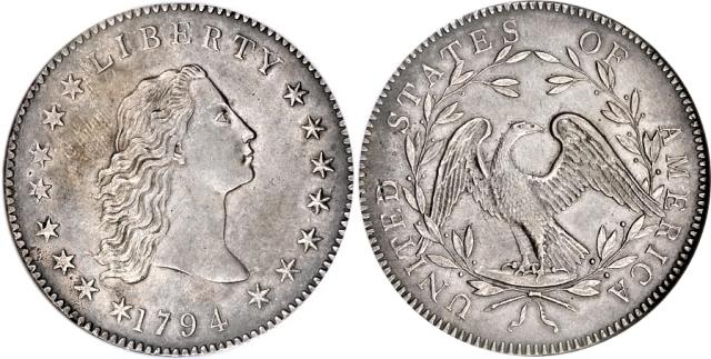 самая дорогая монета в мире - доллар распущенные волосы